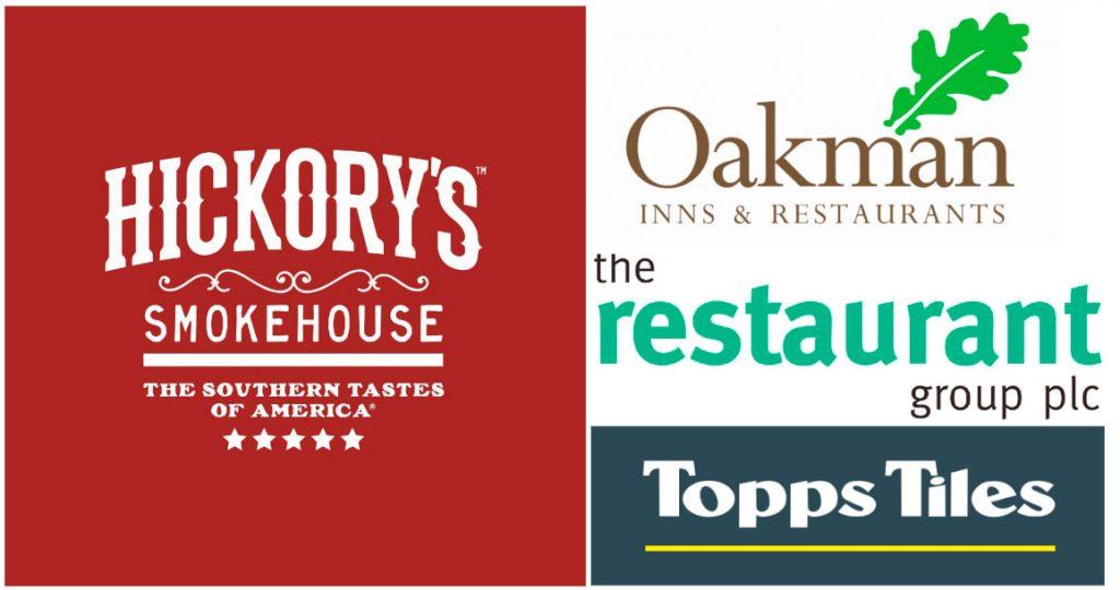 Hickory's Smoke House, Oakham Inns & Restaurants, The Restaurant Group PLC, Topps Titles